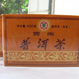 ชาผู่เอ๋อ สุก ZHONG CHA Y671 (2009)