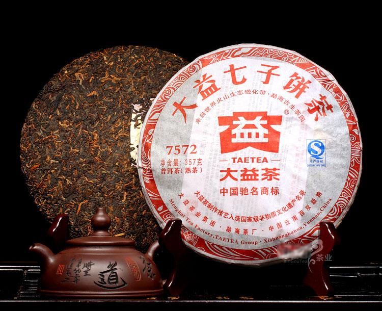 ชาผู่เอ๋อ ต้าอี้ 7572 2012 (1)