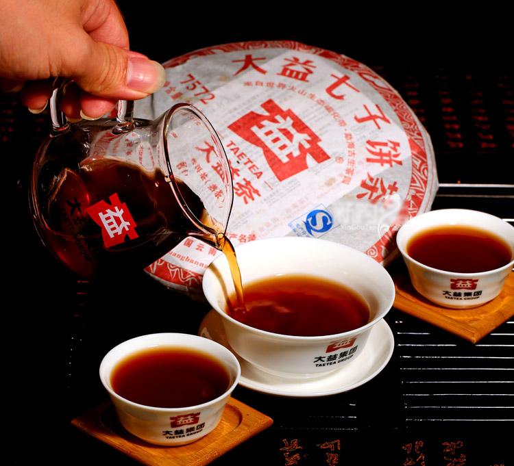 ชาผู่เอ๋อ ต้าอี้ 7572 2012 (2)