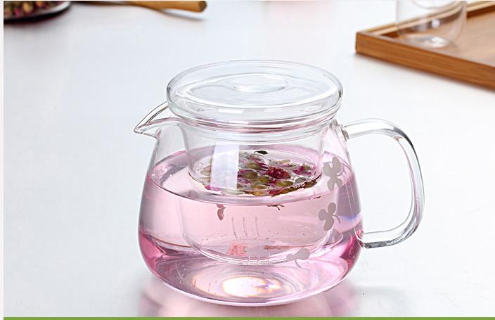 PB09 กาน้ำชาแก้ว