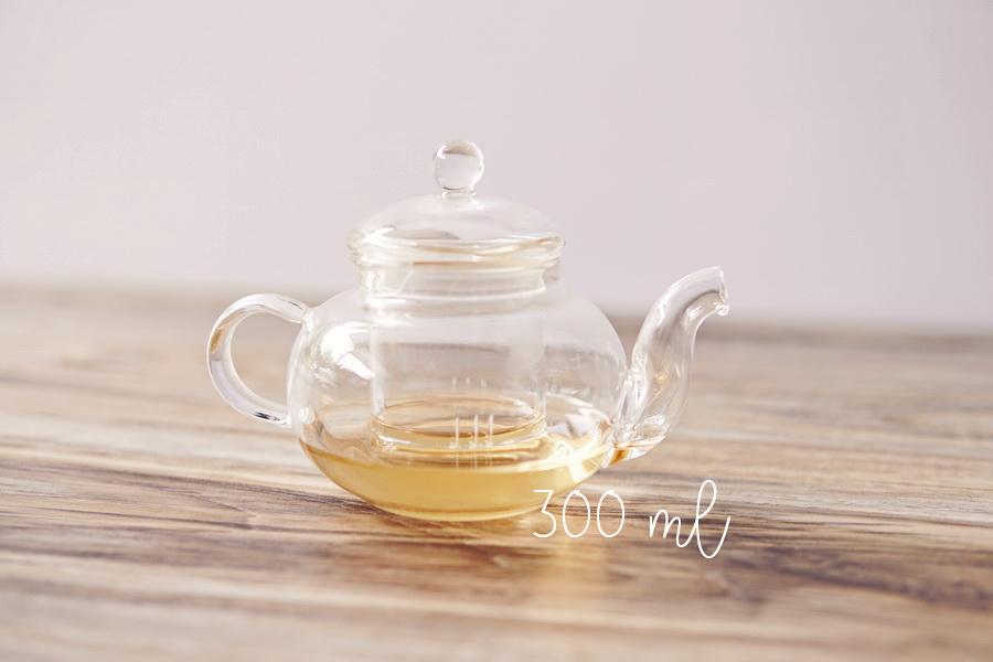 PB52 Tea Glass Pot กาน้ำชา แก้วใส 300ml 3