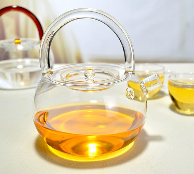 05 กาน้ำชา แก้วใส ทนความร้อน