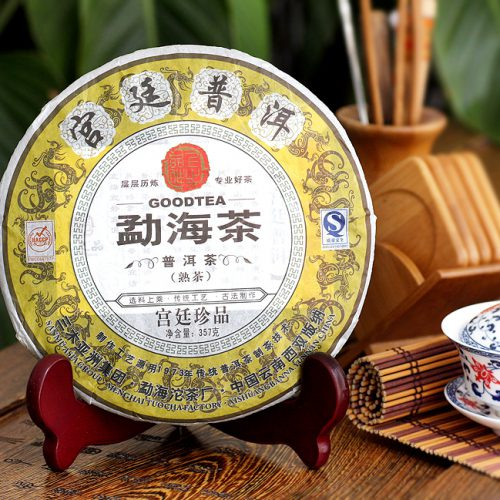 ชาผู่เอ๋อ สุก gōngtíng 宫廷(2010)