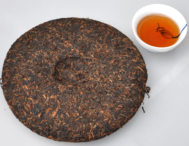 ชาผู่เอ๋อ Liming bajiao ting ชาระดับ HIGHEND 16