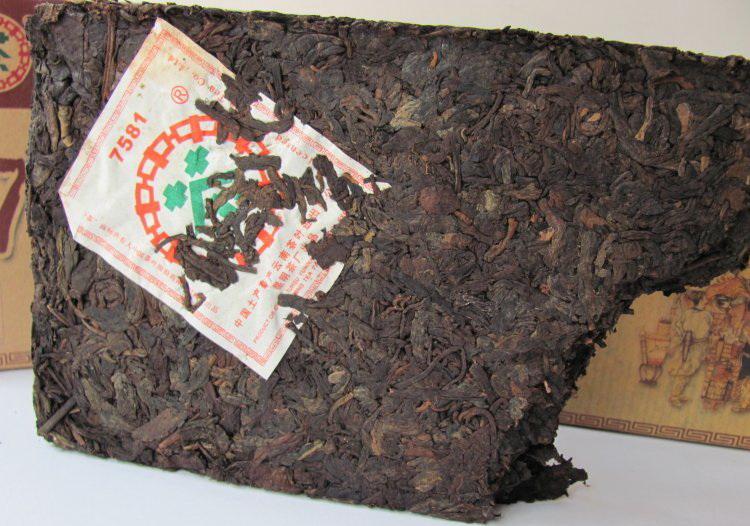 ชาผู่เอ๋อ ZHONA CHA 7581 05