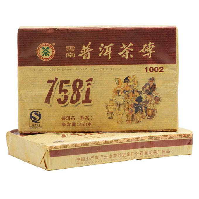 ชาผู่เอ๋อ ZHONA CHA 7581 09