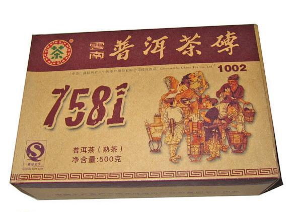 ชาผู่เอ๋อ ZHONA CHA 7581 10