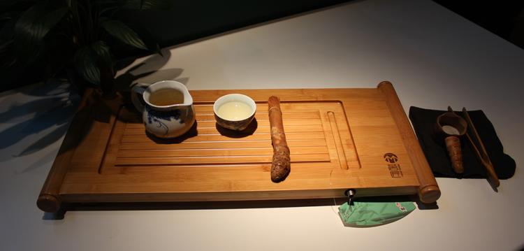 ถาดชงชาไม้ไผ่ หมิง