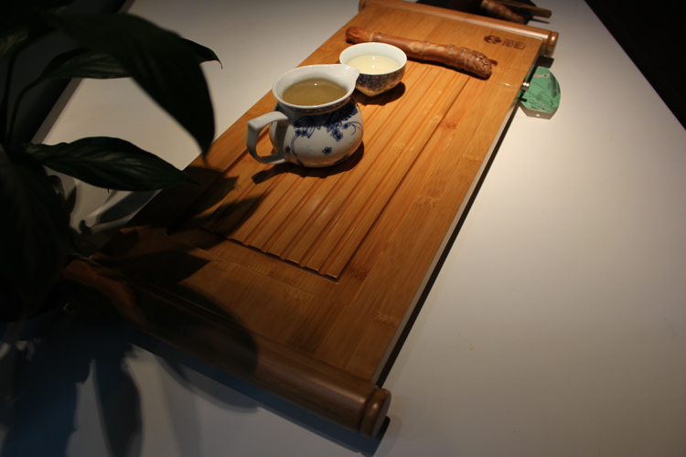 ถาดชงชาไม้ไผ่ หมิง_2