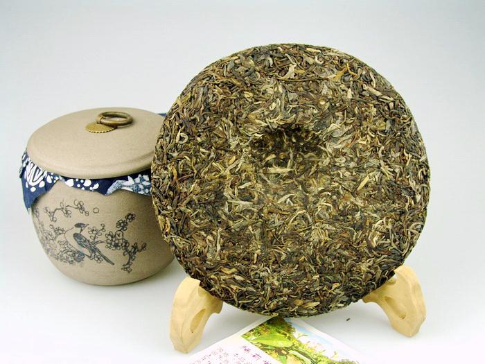 ชาผู่เอ๋อ ดิบ Jùnzhòng hào ) (7)