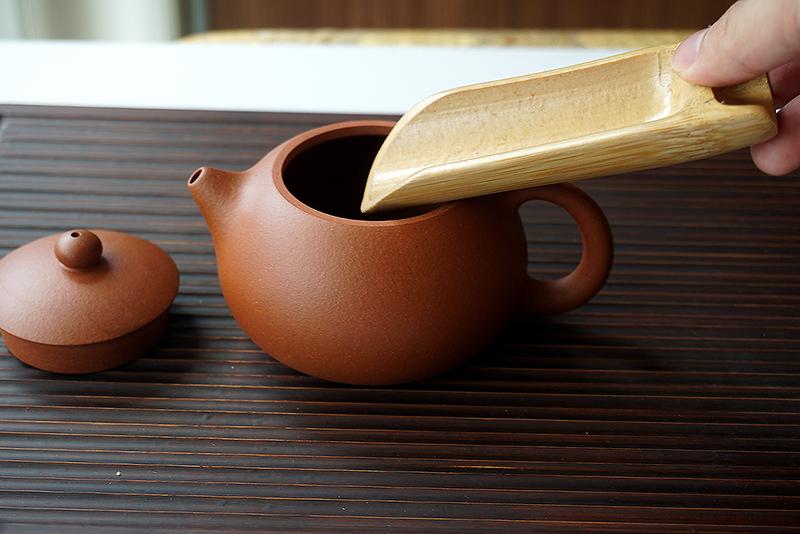 A297 ช้อนตักชาไม้ไผ่ 2