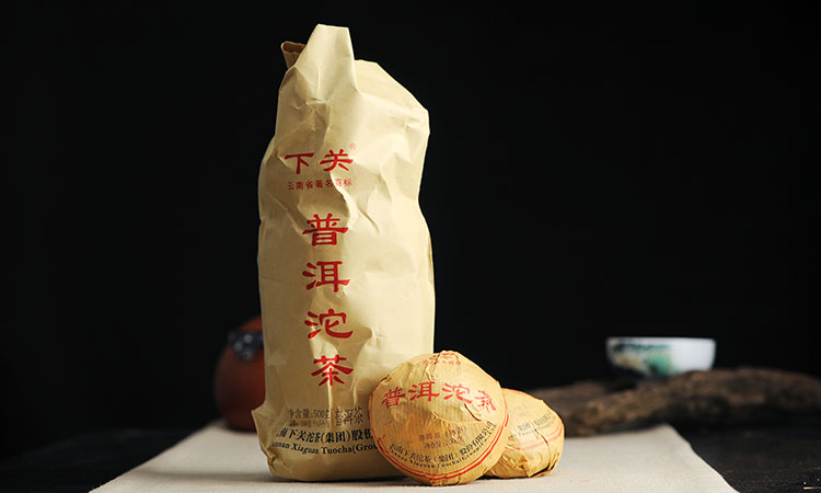 DT63 ชาผู่เอ๋อ สุก Xiaguan Tuo cha 5