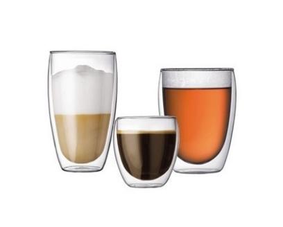 09 ถ้วยชา แก้ว ใส แก้ว ใส 2 ชั้น